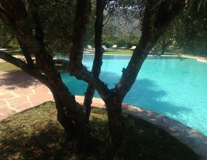 Eine Stunde Fahrtzeit mit dem Riad La Maison Nomade in das Schwimmbad in den Bergen