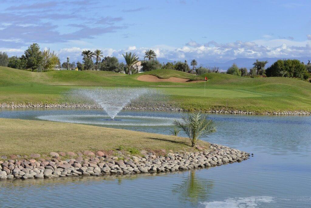 Mit dem Hotel La Maison Nomade zum Golfplatz Amelkis in Marrakesch