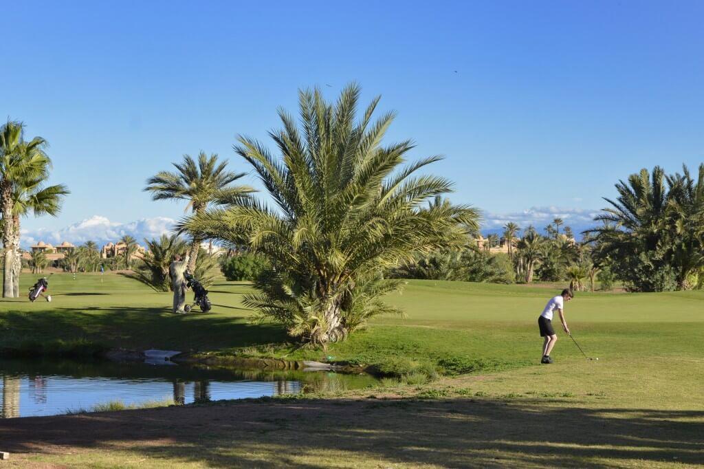 Golf spielen in Marrakesch