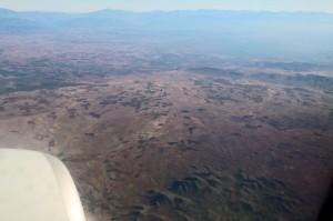 Anflug auf Marrakesch