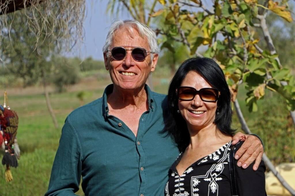 Die Inhaber Touria und Herbert Kerz vom Riad Hotel La Maison Nomade in Marrakesch