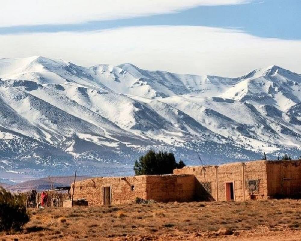Klima in Marrakesch/Hoher Atlas