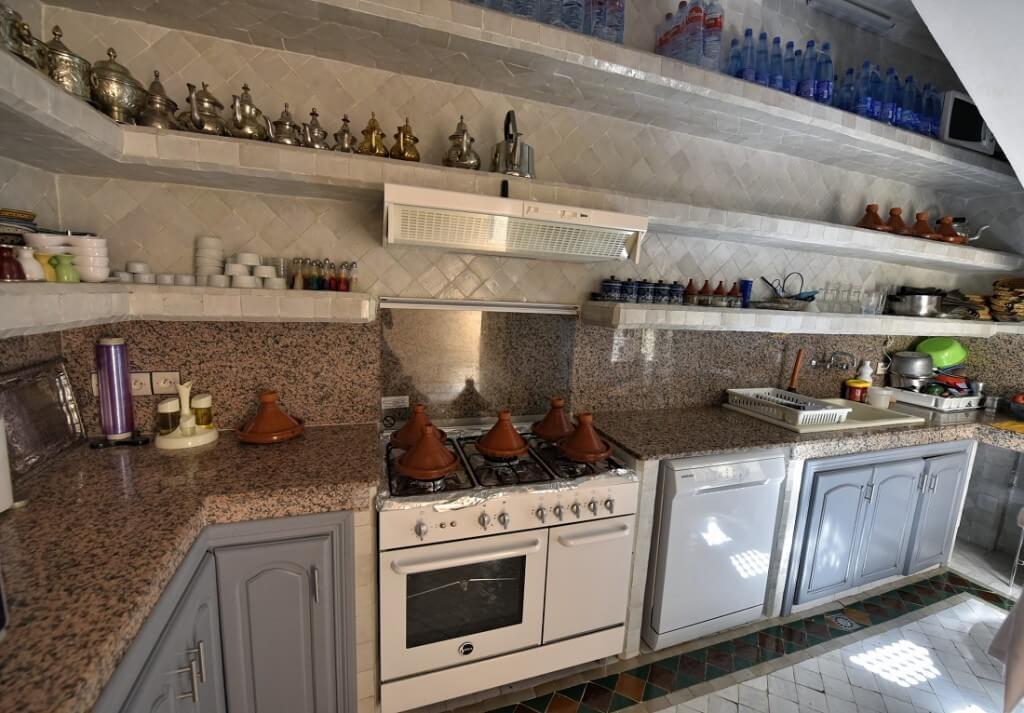 Marokkanische Küche im Hotel La Maison Nomade in Marrakesch