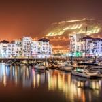 Marina Agadir bei Nacht