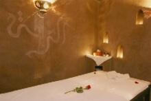 Massagekabine im Hammam