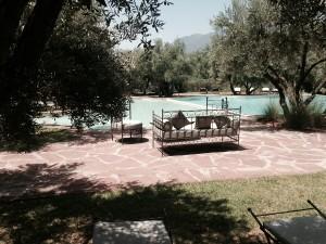 Relaxen im Schwimmbad von Oliveraie de Marigha ca. 1 Std. vom Hotel in Marrakesch entfernt