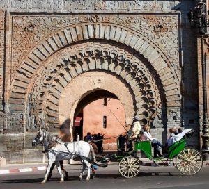 Urlaub in Marrakesch - Stadttor Bab Agnaou