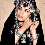 Berberin aus der marokkanischen Sahara