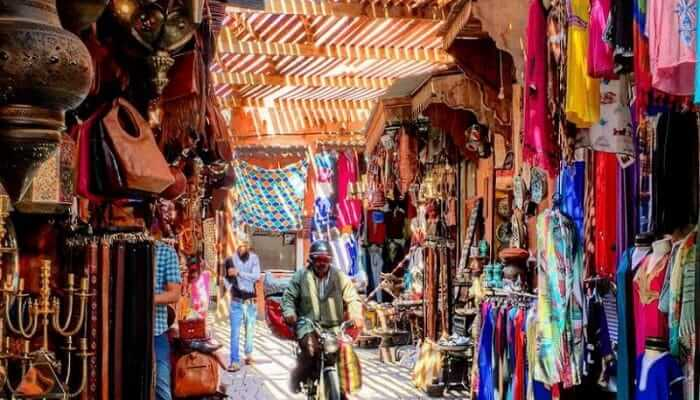 Urlaub Marrakesch mit dem Riad La Maison Nomade in den Souks