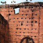 Der Badipalast im Kasbah-Viertel von Marrakesch