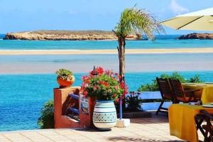 Hotel in der Lagune von Oualidia am Atlantik