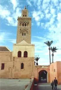 Mit dem Riad La Maison Nomade in Marrakesch zur Koutoubia-Moschee