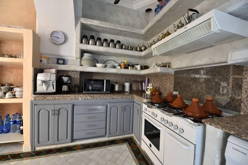 Restaurantküche im Hotel La Maison Nomade in Marrakesch