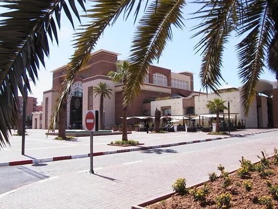 Haupfbahnhof von Marrakesch an der Avenue Mohammed VI