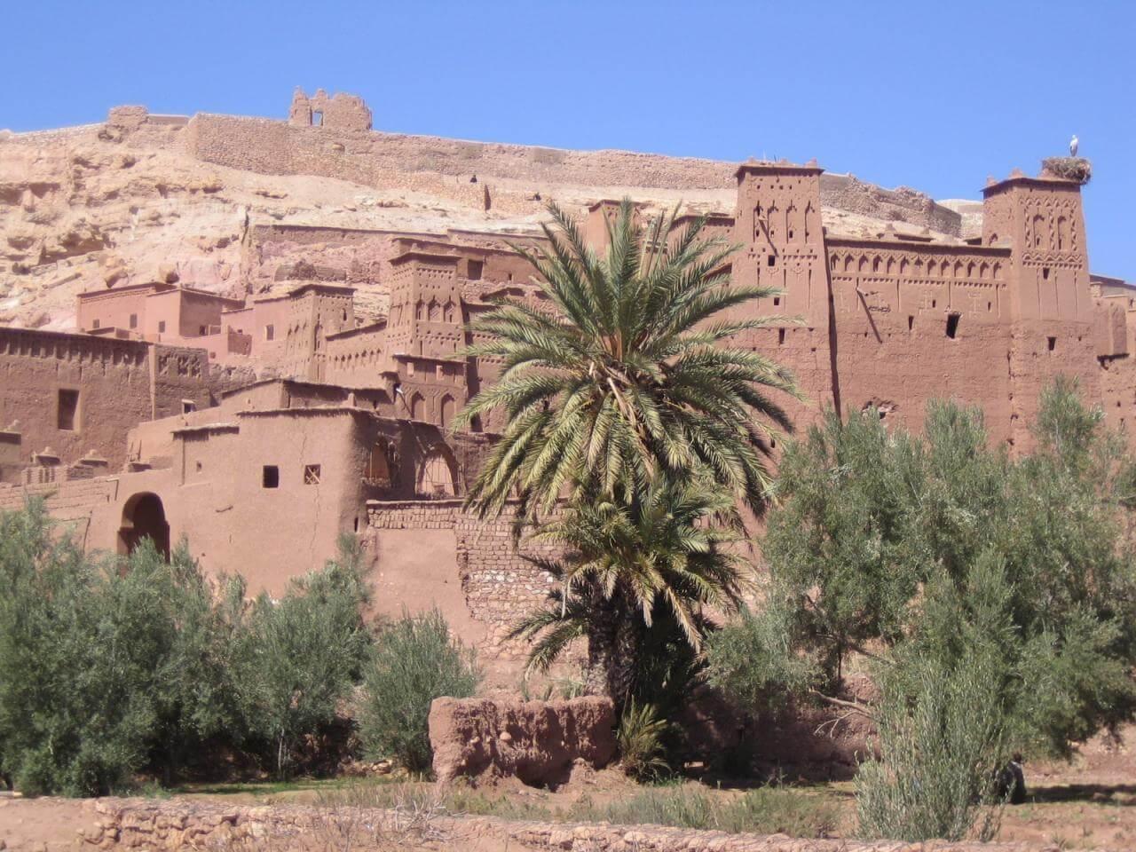 Autovermietung-Mietwagen-Marrakesch-Ait Benhaddou