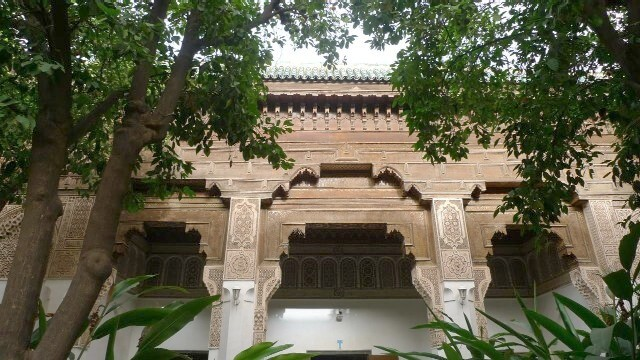 Der Bahia Palast in Marrakesch
