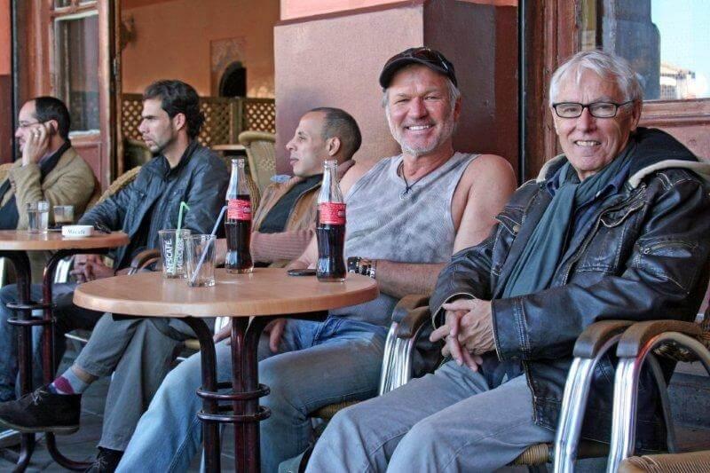 Franz und Herbert i. Café France