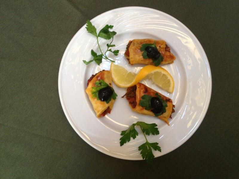 Von der Restaurantküche des Riad La Maison Nomade Briouats