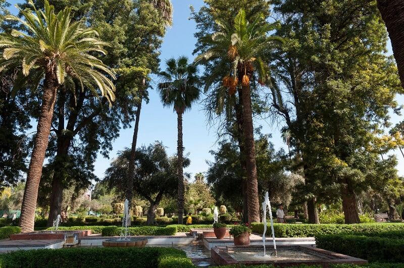 In der Neustadt Gueliz liegt dieser Park