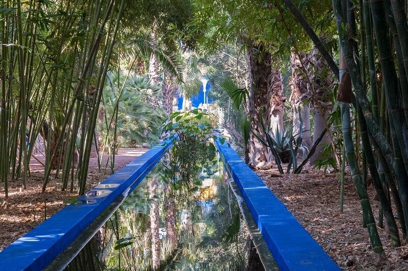 Mit dem Riad La Maison Nomade zum Jardin Majorelle in Marrakesch
