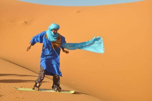 Klima in Marrakesch/Dünensurfen