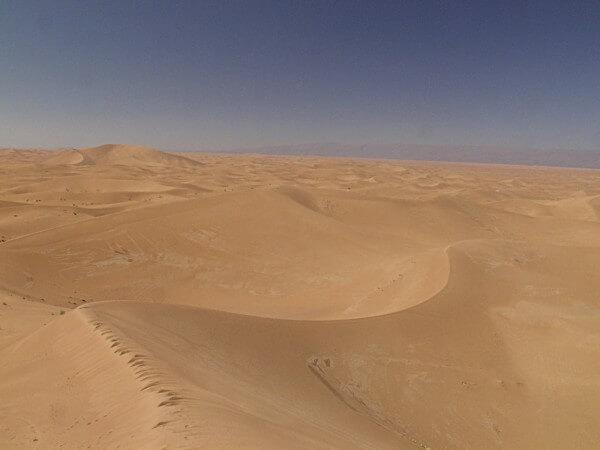 Dünenlandschaft von Erg Chegaga