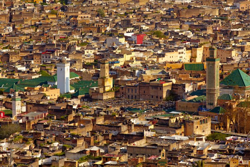 Mit dem Riad La Maison Nomade in Marrakesch nach Fes