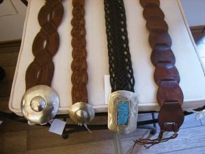 handgefertige Gürtel aus dem Basar von Marrakesch