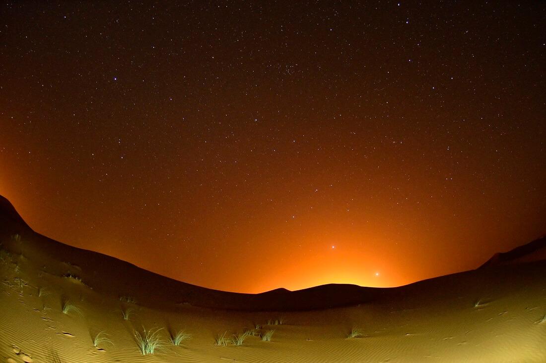 Sonnenaufgang Wüste