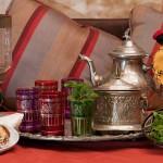 Teezeremonie im Riad La Maison Nomade in Marrakesch