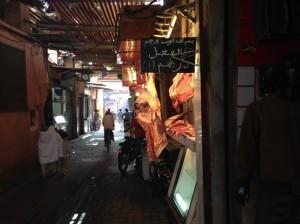 Innenstadt Marrakesch