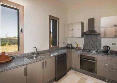 Küche einer Villa Marrakesch