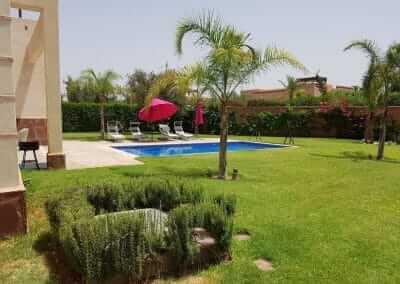 Pool mit Garten Villa Marrakesch