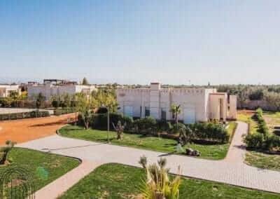 Villa Marrakesch Ansicht komplett