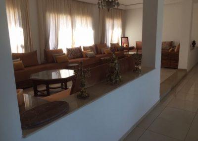 Wohnzimmer Villa Marokko