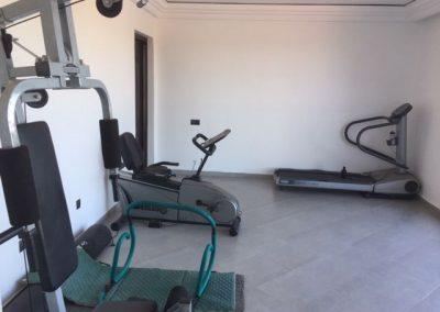 Fitnessraum Villa Marokko