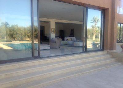 Villa Marokko Terrasse