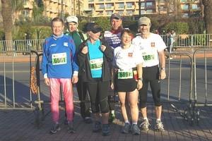Marathonläufer 2012 des Hotel La Maison Nomade in Marrakesch