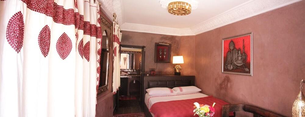 Zimmer Yacout im Riad La Maison Nomade Marrakesch