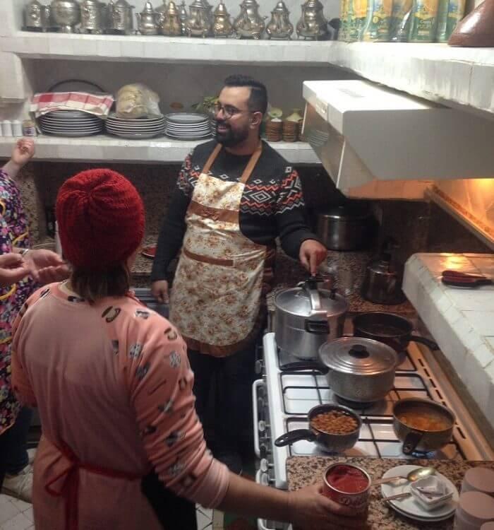 Kochkurs im Riad La Maison Nomade Marrakesch