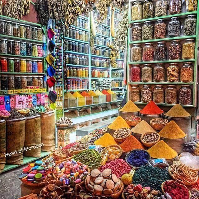 Gewürzapotheke in Marrakesch