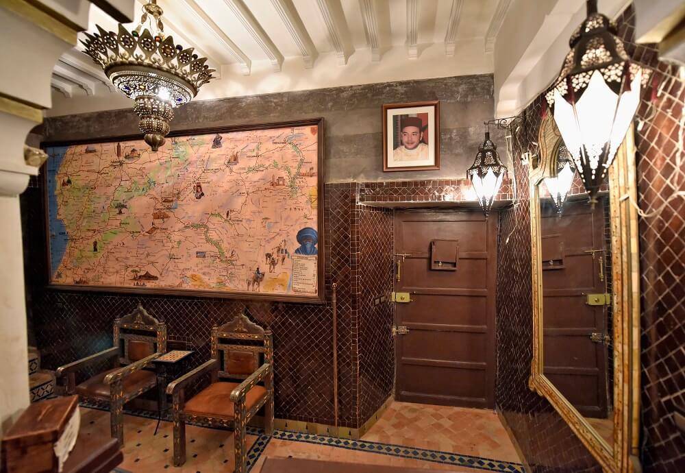 Eingangsbereich Riad