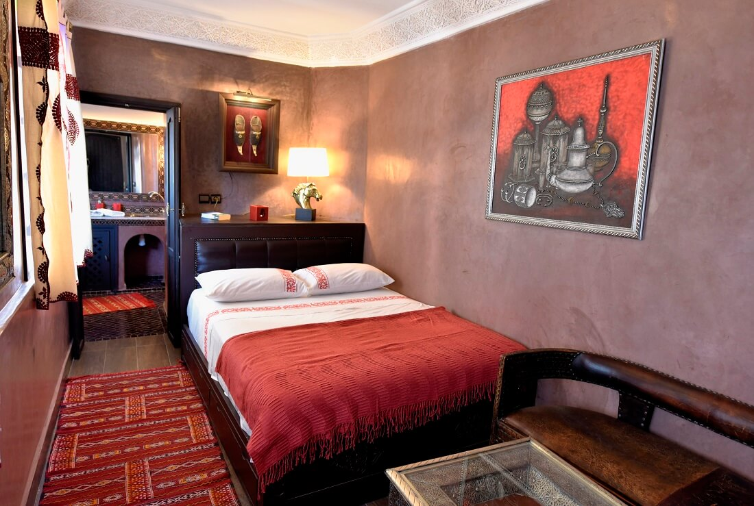 zimmer yacout im riad in marrakesch | la maison nomade