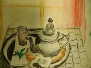 Bild Teekanne