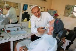 Friseur im Marrakesch