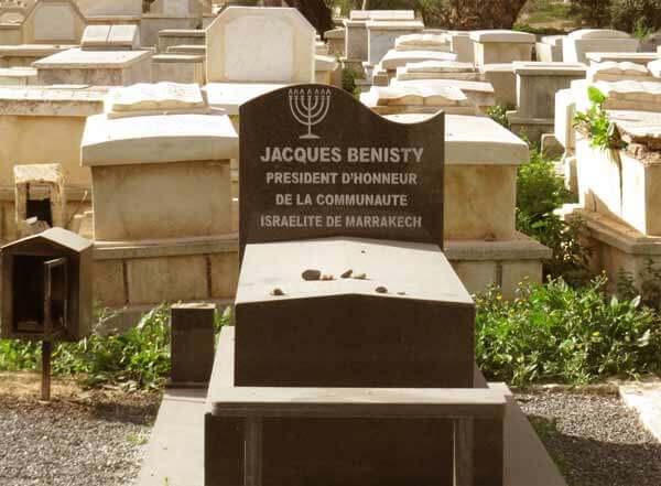 Jüdischer Friedhof in der Mellah von Marrakesch