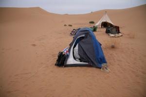Zelt in der Wueste