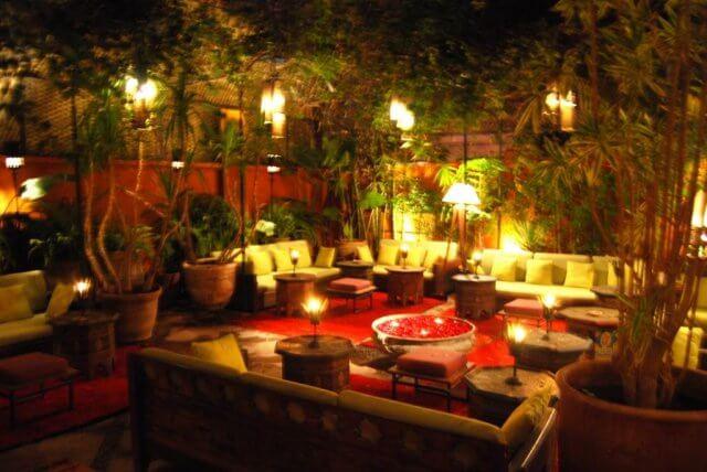 Italienisches Restaurant La Trattoria in Marrakesch