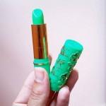 Lippenstift aus Pfefferminze