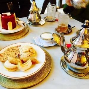 Teatime in Marokko